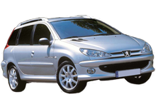 Peugeot 206 STW 1.4 For Rent